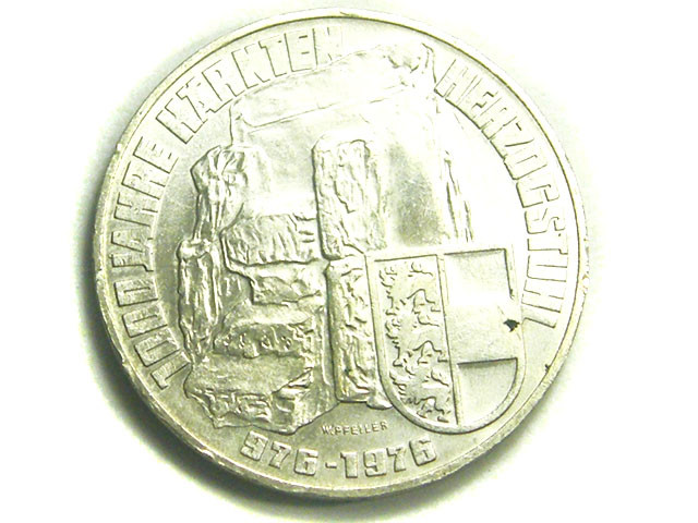 AUSTRIA COIN L1, ONE HUNDRED SCHILLING 976-1976 T1202