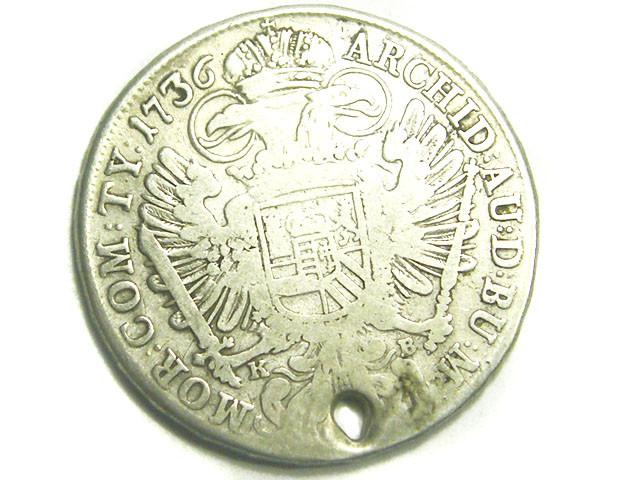 AUSTRIA COIN L1, 1736 MARIA THERESIA THALE COIN T1223