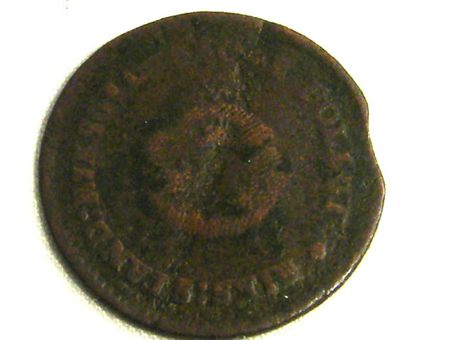 SWEDEN COIN L1, 1800 1/2 SKILLING COIN T1261