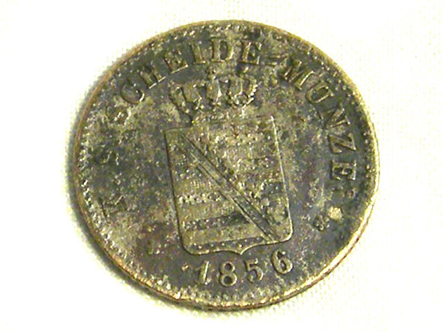 GERMANY COIN L1, 1856 1 PFENNING COIN T1273