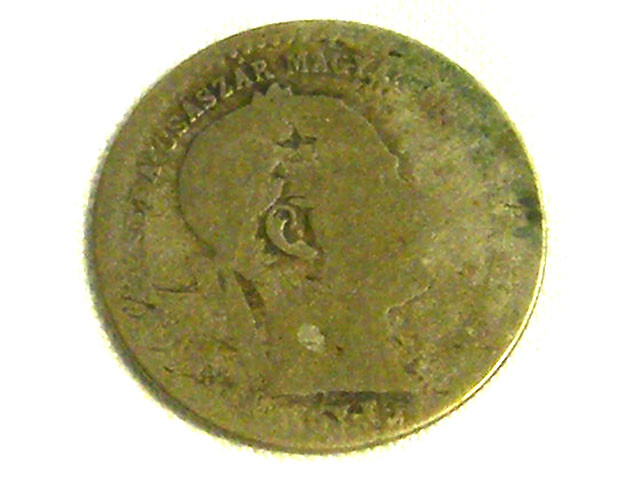 HUNGARY COIN L1, 1869 10 KRAJEZAR COIN T1286