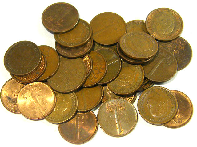 NETHERLANDS COINS L31, ONE CENT COINS T1292