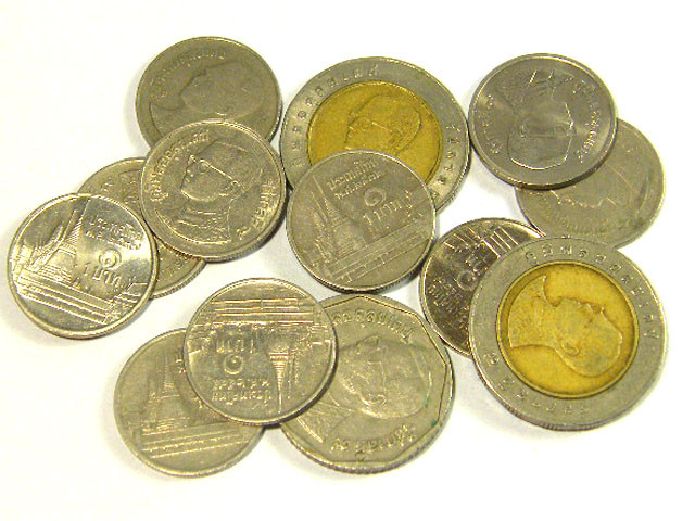 THAILAND COIN L10, MIXTURE OF THAILAND COINS T1304
