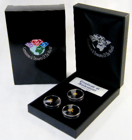 TREASURES OF THE WORLD GOLD SERIES 8-100 (TWG)