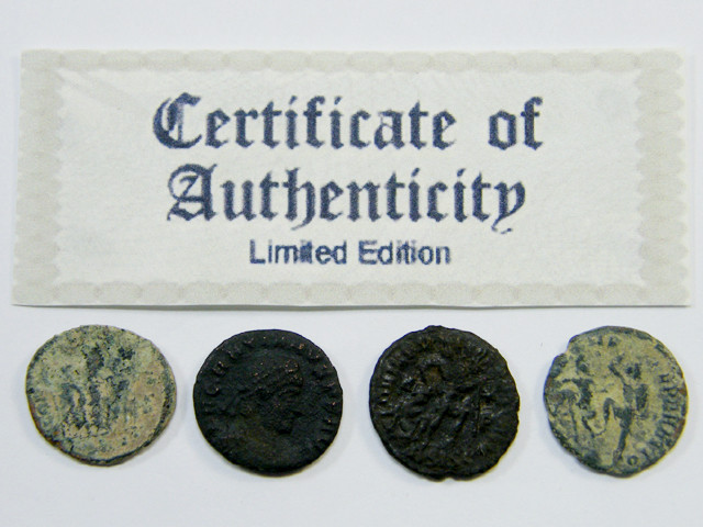 TREASURE SERIES OF ANCIENT ROMAN COINS 2-500 (ARC)