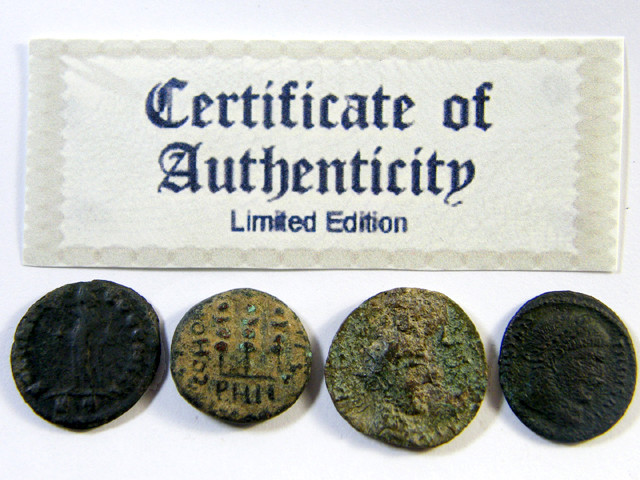 TREASURE SERIES OF ANCIENT ROMAN COINS 6-500 (ARC)