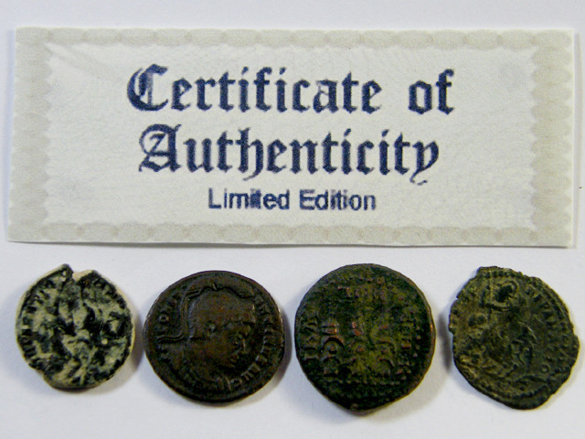 TREASURE SERIES OF ANCIENT ROMAN COINS 7-500 (ARC)