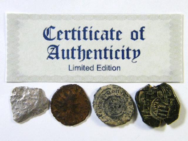 SHIPWRECK & ANCIENT COIN TREASURES  1-150   (SAT)