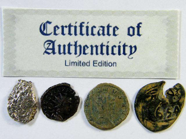 SHIPWRECK & ANCIENT COIN TREASURES  7-150   (SAT)