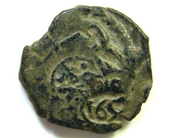 Spanish Maravedis Cob 1651?   f-12 Philip II, III, IV AC401