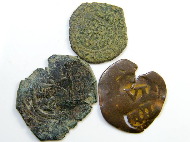 Parcel  Maravedis Cob 16-17thCent   Philip II, III, IV AC427