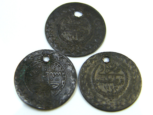 PARCEL 3  16th-17th CENTUARY OTTMAN EMPIRE  COINS    CO -112