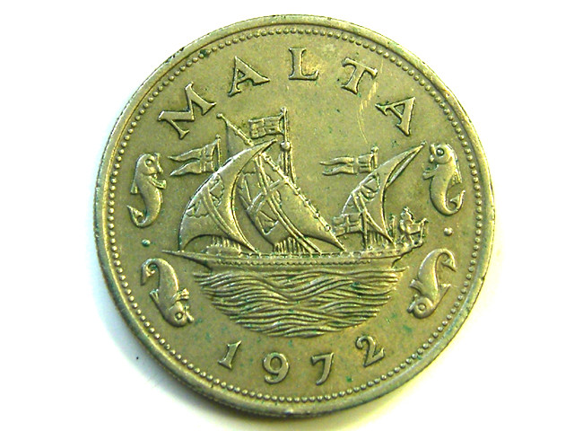 10 CENTS  COIN MALTA   1972  J 323