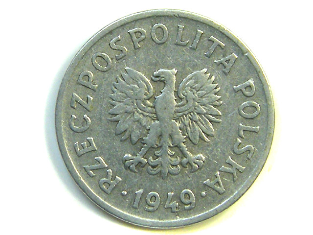 POLAND 1940  20 GROSZY COIN   J334