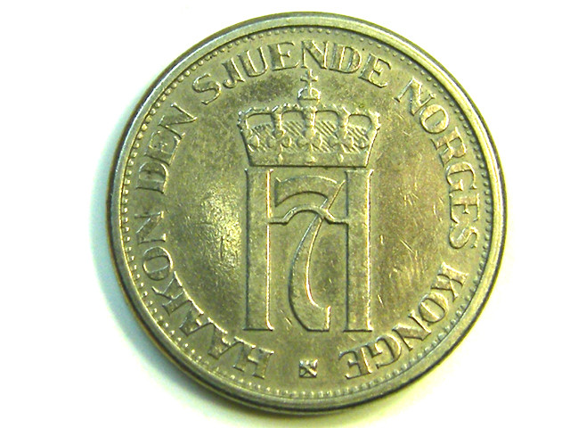 1951 1 KRONE NORWAY COIN  J 381