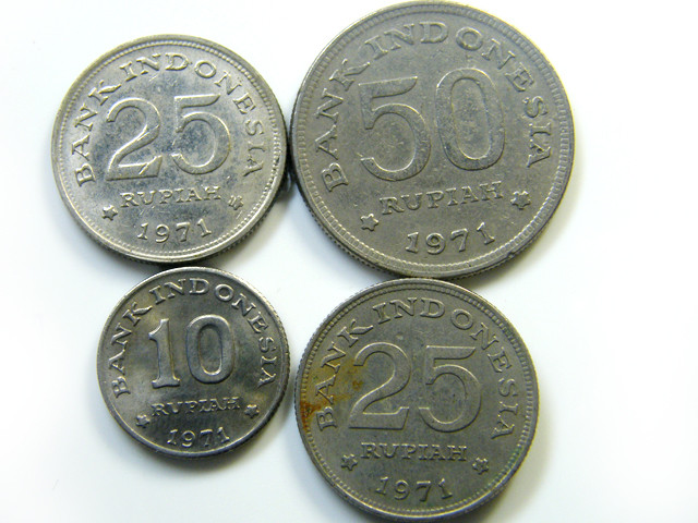PARCEL4 INDONESIAN COIN S  J 418