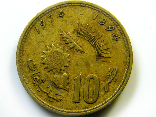 1974  20LIBYA COIN   J 433