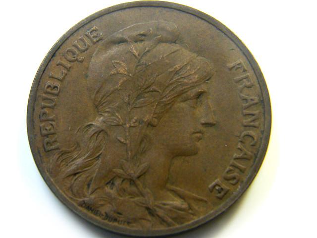 1903  FRANCE  COIN  10 C ENTIMES   J 464