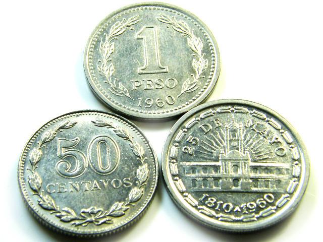 PARCELTHREE ARGENTINA  COIN S 1960-1941  J512