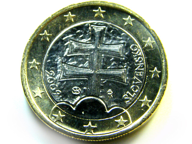 UNC SLOVAKIA BI METAL 2009   COIN   J559