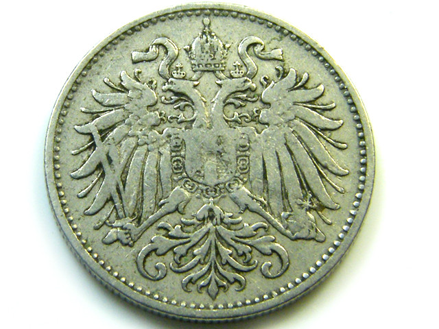 1994 AUSTRIA 10 HELLER  VF-20   CO -221