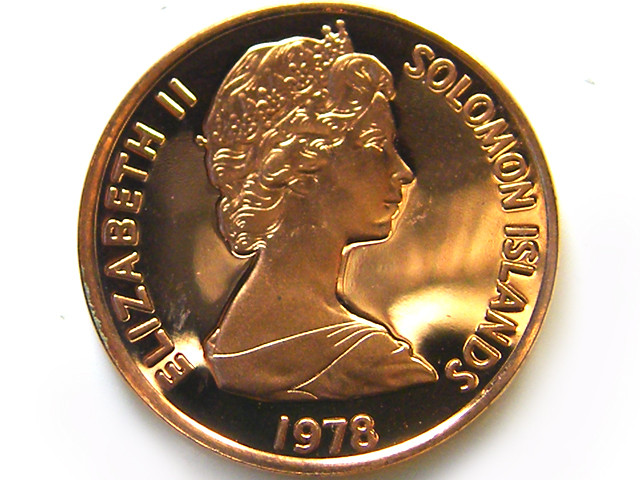 SOLOMON ISLANDS UNC  1 CENT 1978