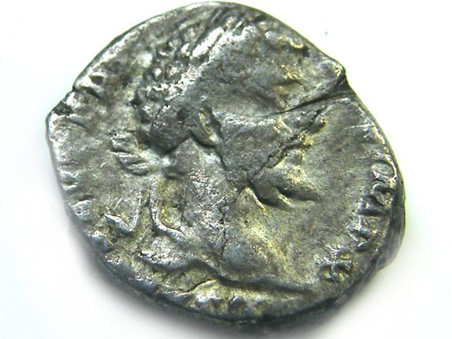 ROMAN SILVER DENARII  SEPTIMUS SEVERUS  AC 462