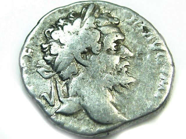 ROMAN SILVER DENARII  SEPTIMUS SEVERUS  AC 470