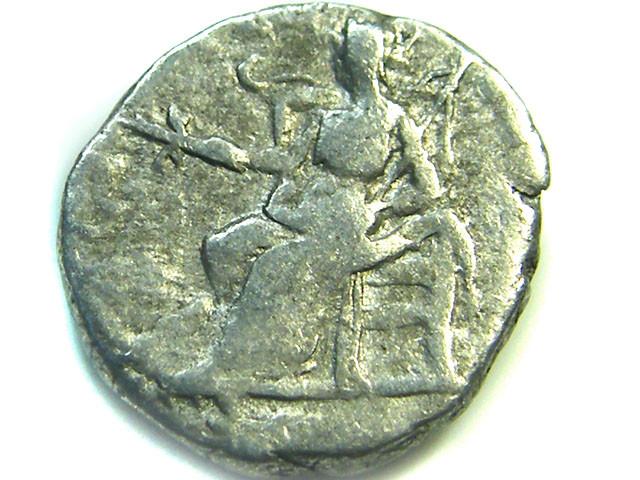 ROMAN SILVER DENARII  SEPTIMUS SEVERUS   AC 480