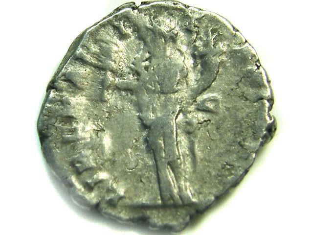 ROMAN SILVER DENARII  SEPTIMUS SEVERUS   AC 484