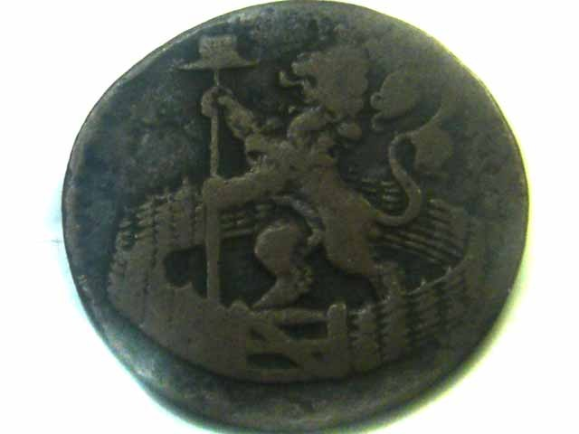 1723 DUTCH  HOLLANDIA COIN    CO353
