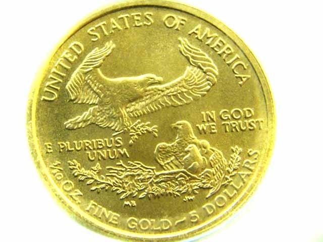 LIBERTY 2005 1/10 OUNCE FINE GOLD COIN  CO 369