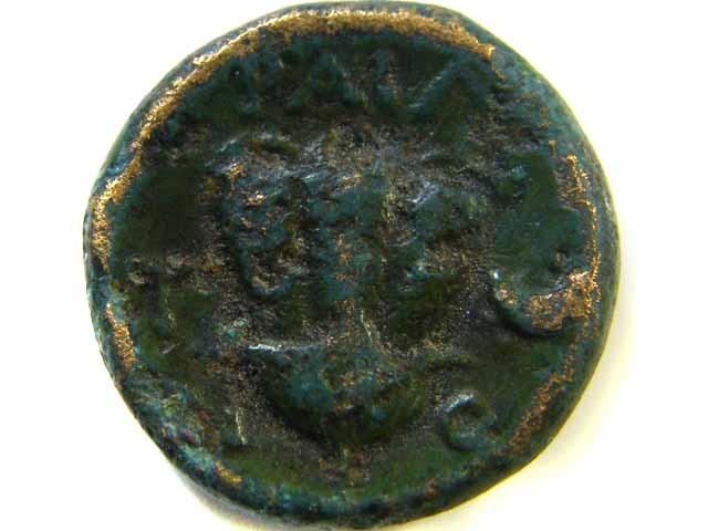 GREEK BRONZE COIN FROM EPHESOS / IONIA  AC   508