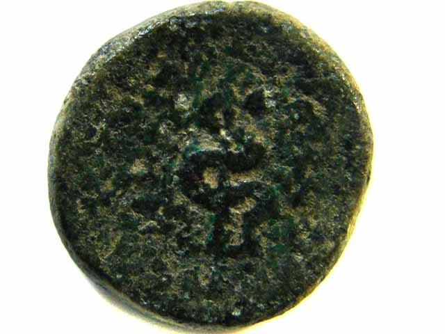 GREEK BRONZE COIN FROM MACEDONIA  AC 507