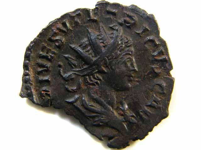 Imperial Rome  Tetricus II. AE-Antoninian.  273/74   AC 510