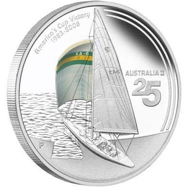 25th Anniversary of Australia II America's Cup Victory 1983-