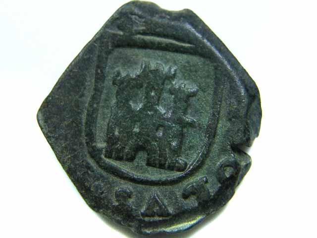 Spanish   Maravedis Cob 16 th Cent   Philip II,  AC 532