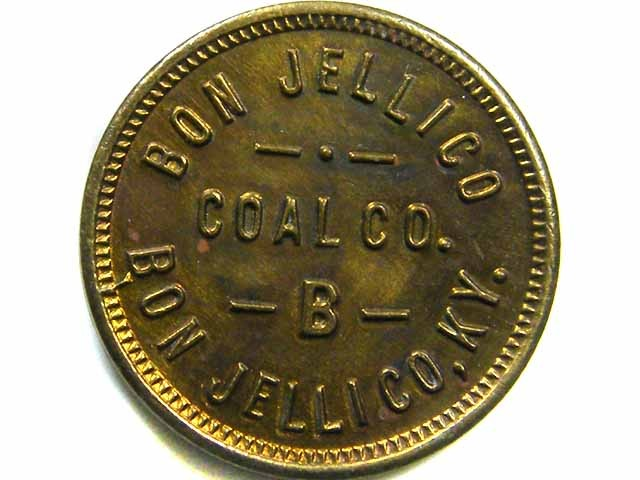 BON JELLICO COAL TOKEN    CO 419