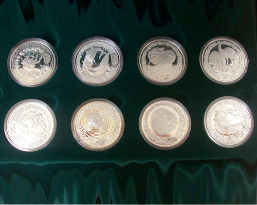 SYDNEY 2000 OLYMPIC COIN COLLECTION  FLORA AND FAUNA SERIES