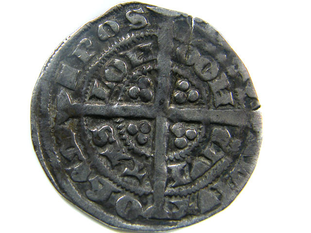 1351-1352  EDWARD 111  HALF GROAT GREAT BRITIAN  CO 452