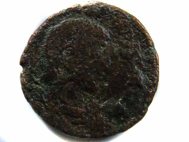 VALUE ANCIENT ROMAN COIN TO START COLLECTION  CO 485