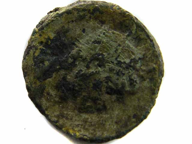 VALUE ANCIENT ROMAN COIN TO START COLLECTION  CO 504