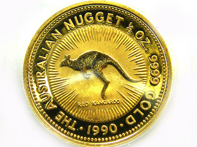 1990 HALF OUNCE KANGAROO GOLD COIN CO -252