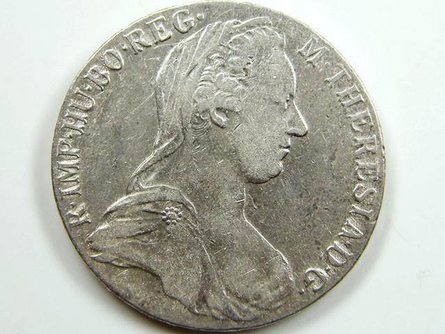 1780 Maria Theresa Silver Thaler Restrike Trade Coin