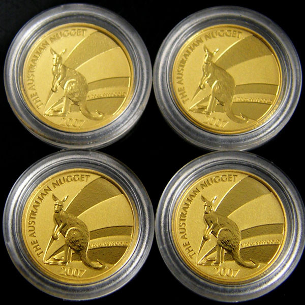 TREASURES OF AUSTRALIA GOLD SERIES  4-100  (TAGC)
