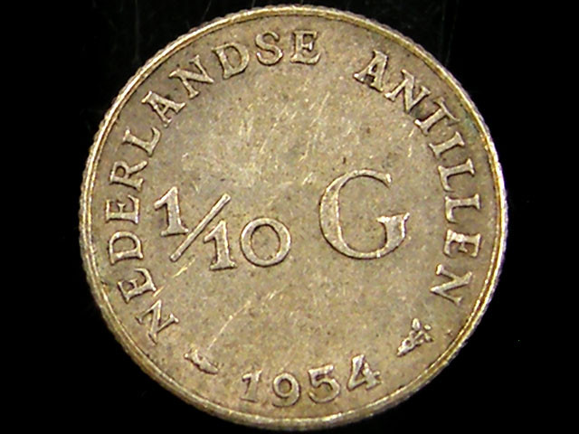 1/10 G 1954  SILVER COIN CO 680