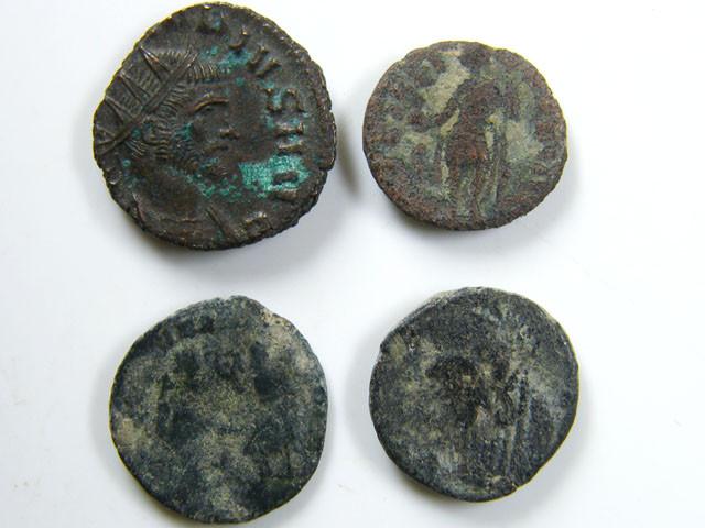 PARCEL4  MIXED ANCIENT ROMAN COINS  AC 617