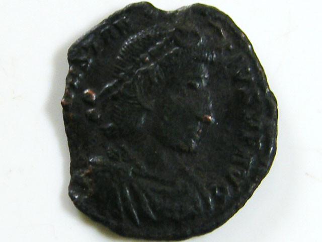 BRONZE COIN 3-4TH CENTURY  ROMAN COIN  AC 623