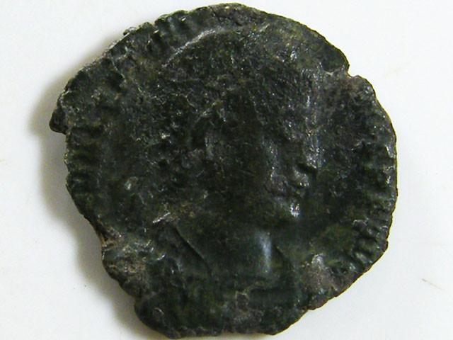 BRONZE COIN 3-4TH CENTURY  ROMAN COIN  AC 625