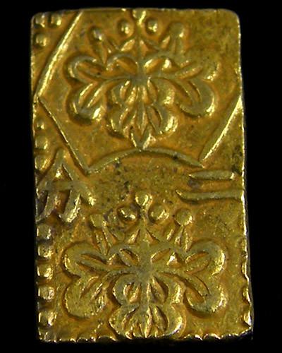 MEIJI DYNASTY NIBUKIN  GOLD COIN 1868-1869     JCC 9